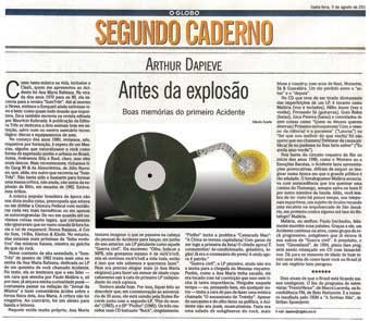 Arthur Dapieve's article about